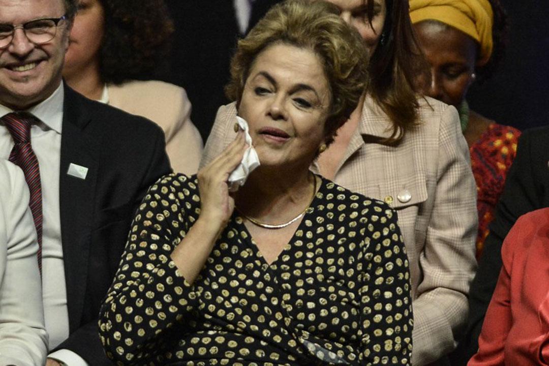 巴西總統迪爾瑪·羅塞夫。