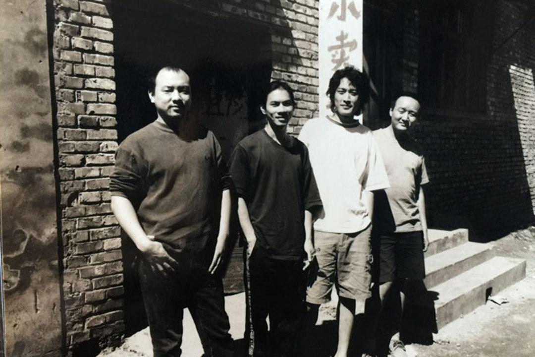 15年前的木推瓜樂隊。