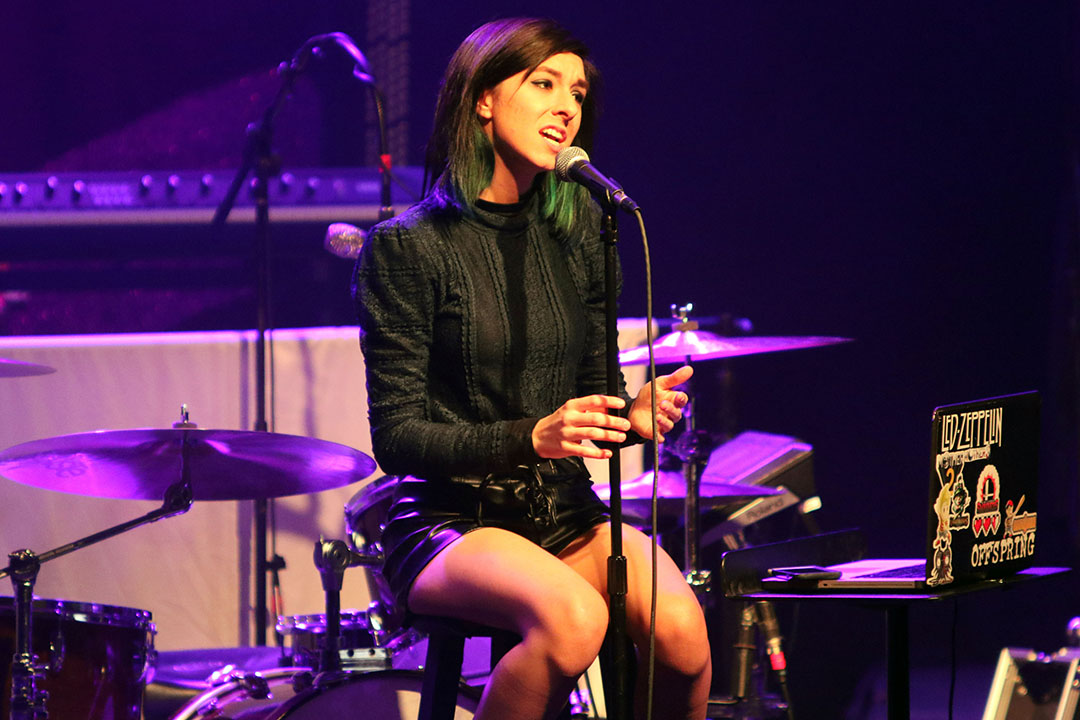 美國女歌手克莉斯緹娜葛瑞米(Christina Grimmie)。