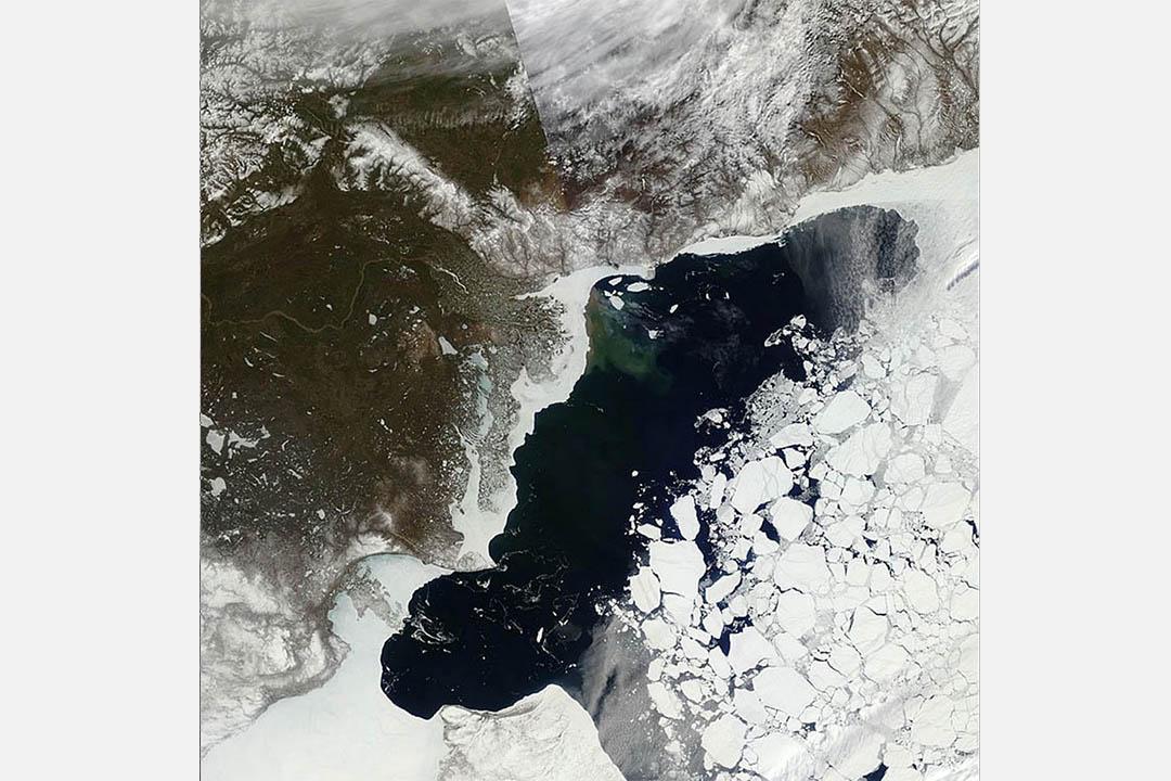 2016年5月21日,北冰洋的波弗特海。