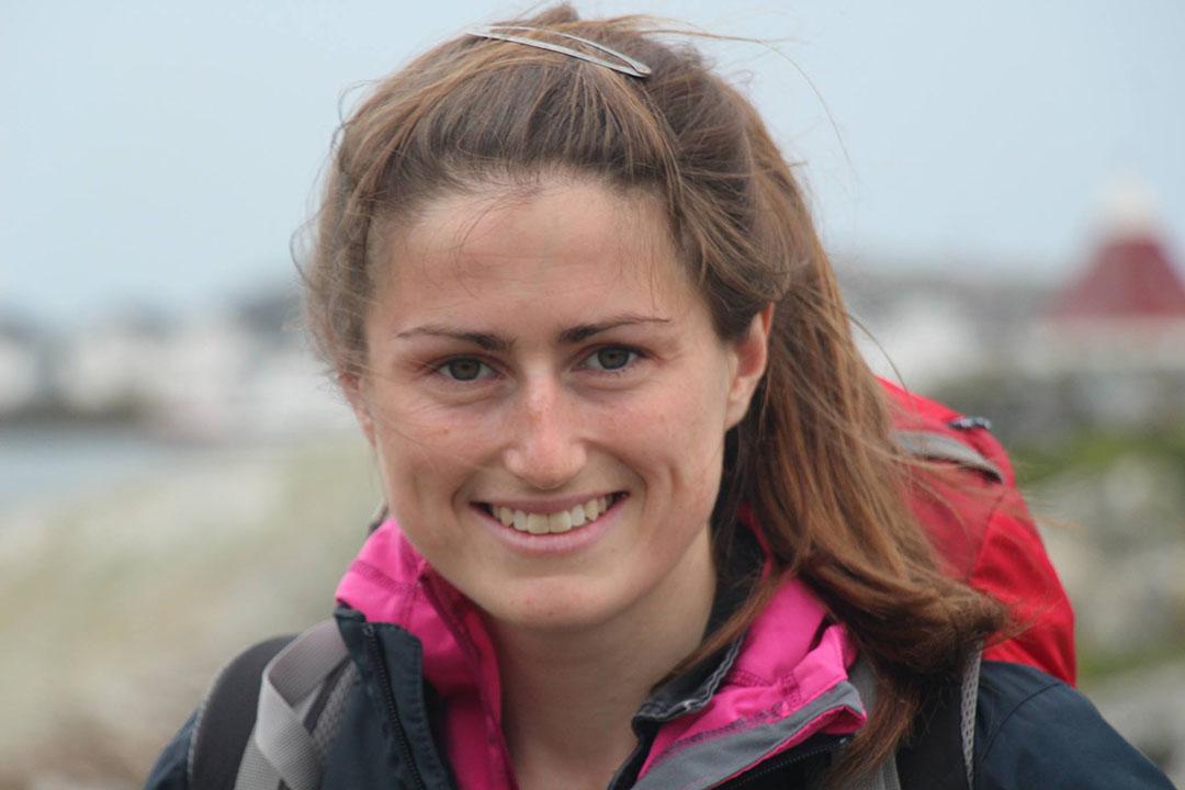 24歲的英國人Vicky Griffiths,在「Farmers for Britain」(農人為英國)擔任執行總監。