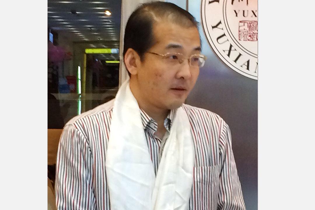 北京維權律師夏霖。