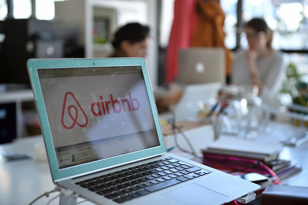 圖為Airbnb 位於法國巴黎的的辦公室 。