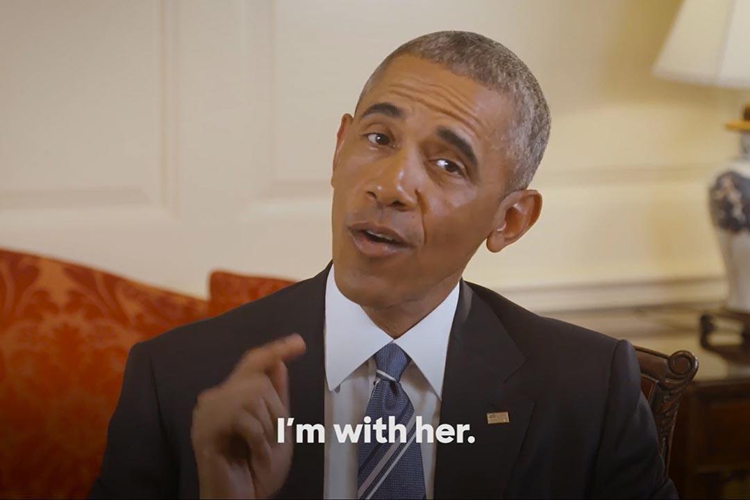 美國總統奧巴馬為希拉里拍攝的視頻,正式宣布支持希拉里成為民主黨總統大選提名人。