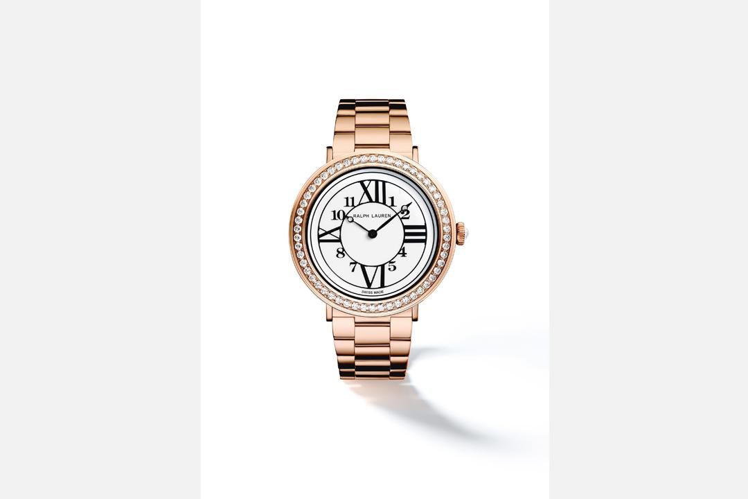 錶盤有非常Ralph Lauren的感覺,其實是品牌對旗下腕錶設計的堅持。