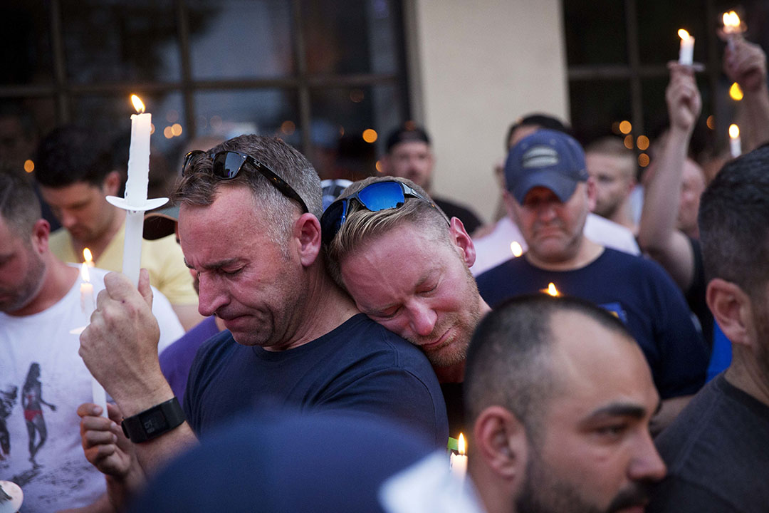 美國多個城市發起悼念活動。