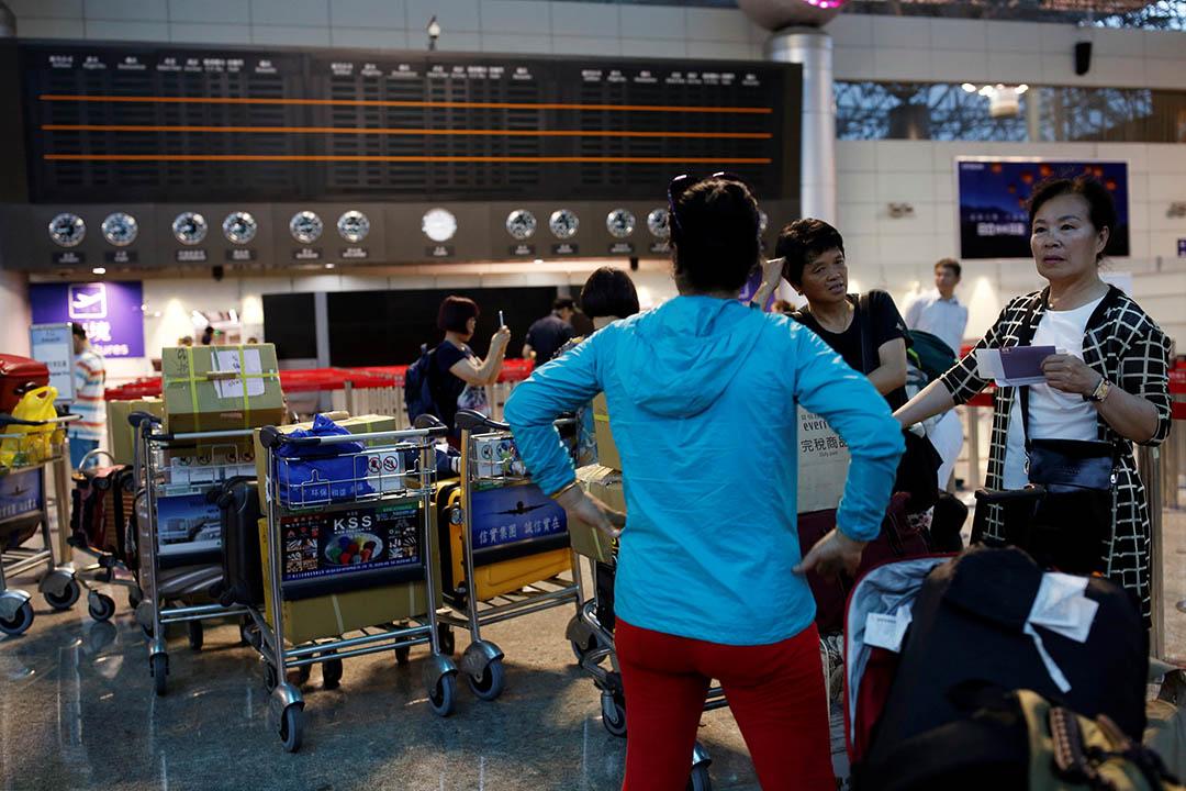 台灣桃園機場。