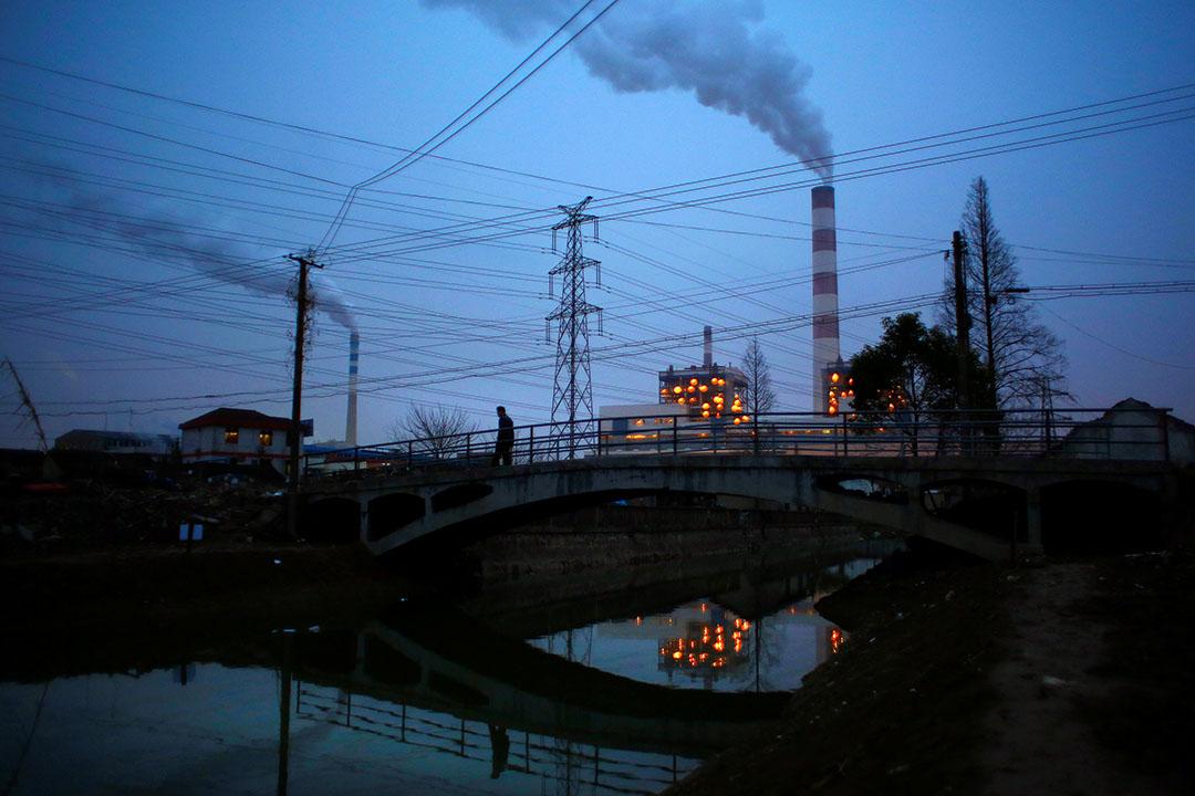 上海一間發電廠。
