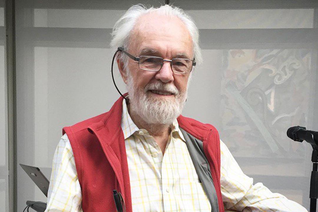 美國紐約城市大學教授大衛·哈維(David Harvey)。