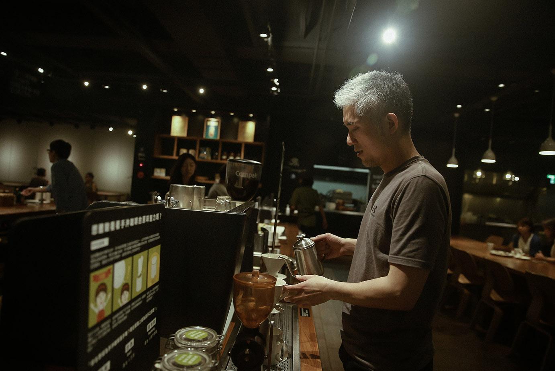 覺旅咖啡創辦人Brendon(張書豪)。