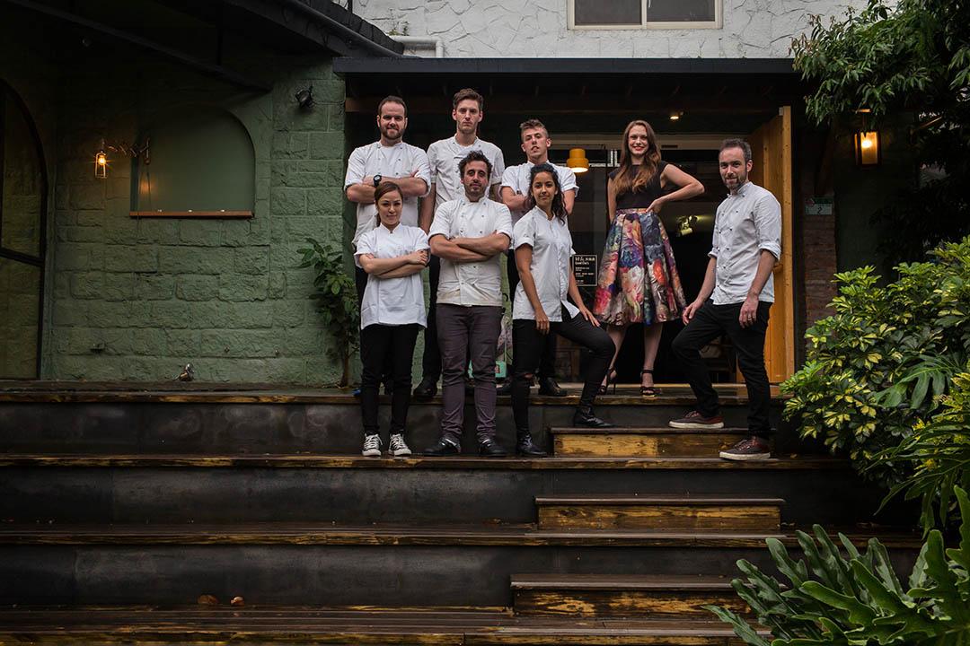 一群曾在米其林餐廳工作的廚師組成快閃團隊-One Star House Party。
