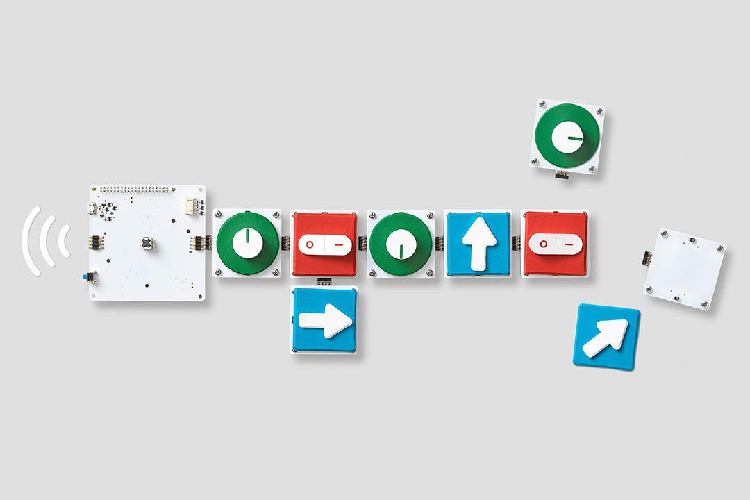 Google 推出 Project Bloks 教兒童編程。