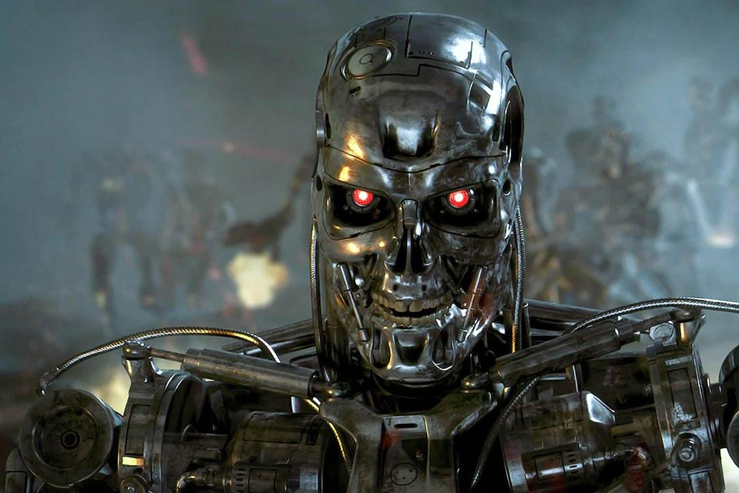 Google研究阻止人工智能傷害人類的「紅色按鈕」。圖為電影《魔鬼終結者:創世契機》Terminator Genisys劇照。