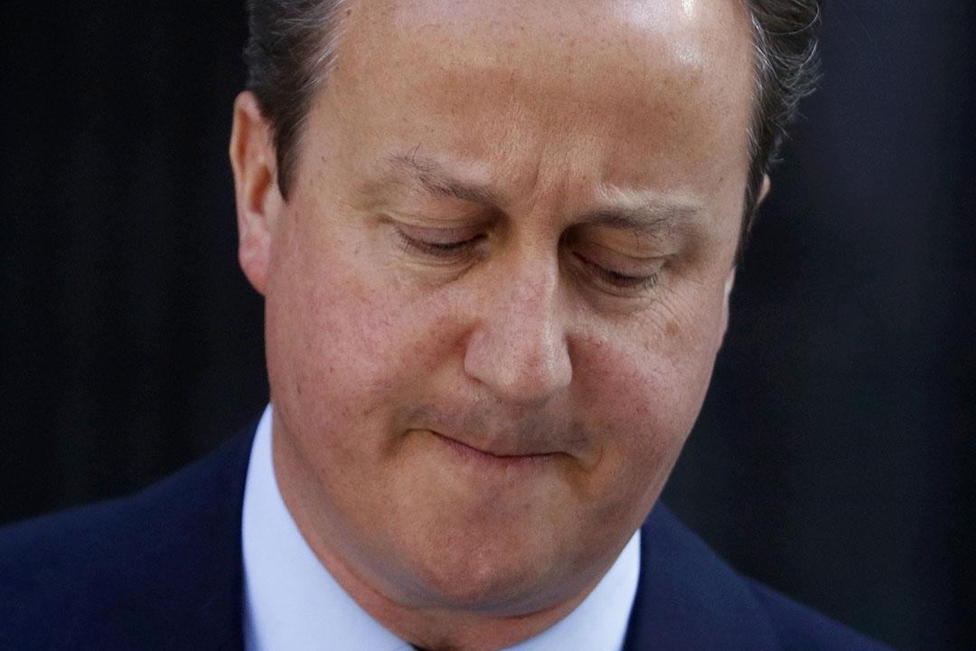 英國首相卡梅倫宣布將在今年秋季前辭職。