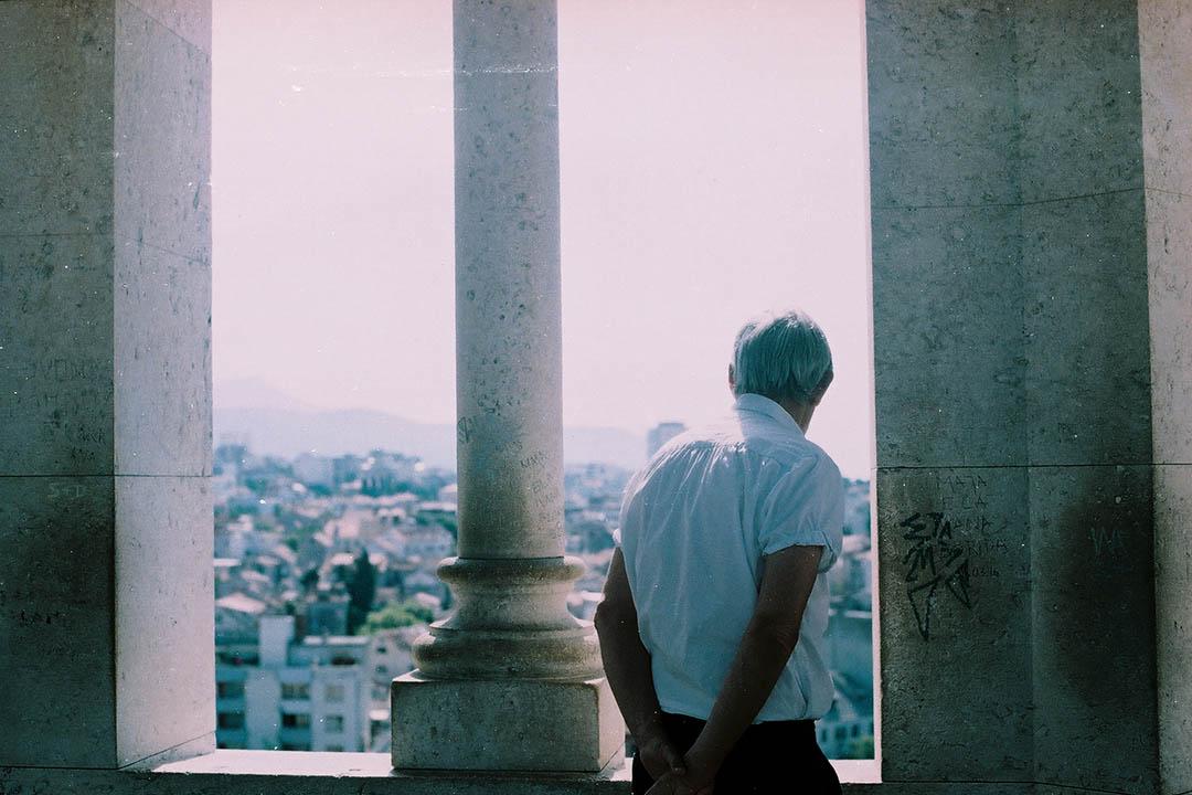站在古城 Split 於1100年建成的 Bell Tower 上,嘆天地之蒼茫,慨克羅地亞命運之多舛。 作者提供