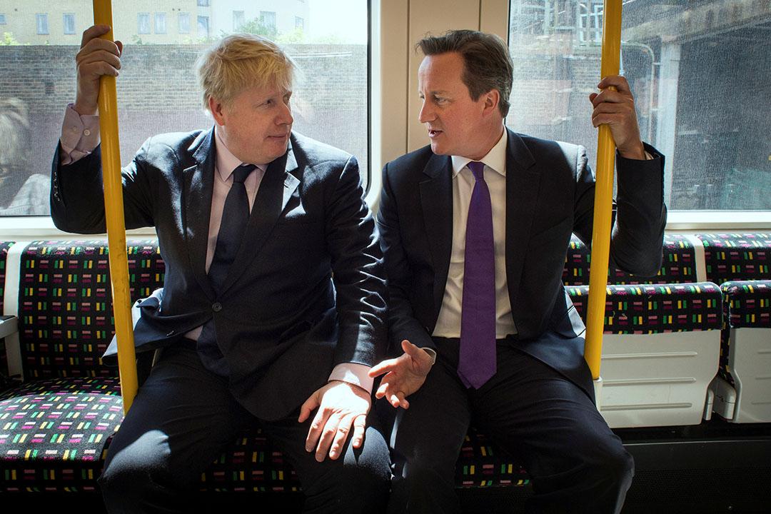 倫敦前市長約翰遜有意競選首相接替卡梅倫首相職位。