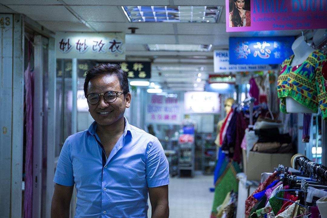 尼泊爾傳媒 Ethnic Voice 記者 JB Pun Magar。