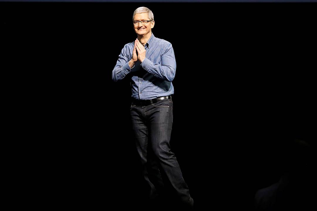蘋果公司(Apple Inc.)行政總裁庫克(Tim Cook)。
