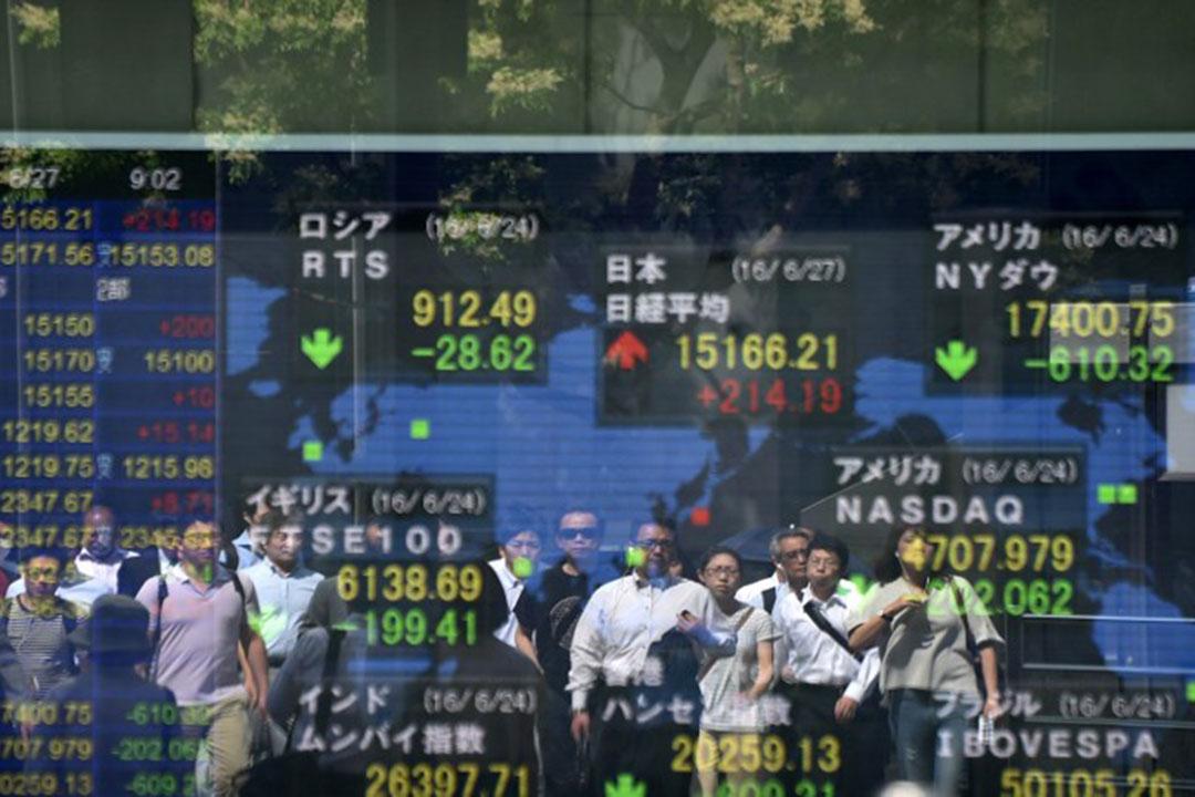 英脫歐結果令亞洲市場持續巨震。