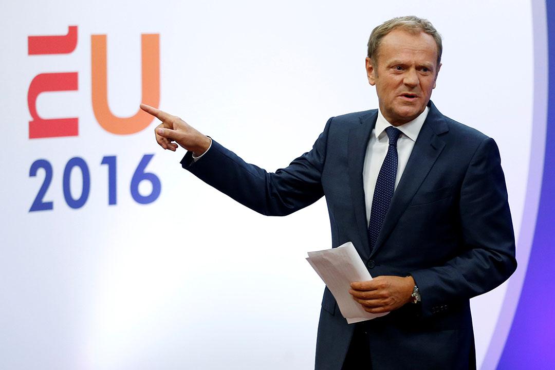 歐洲理事會主席圖斯克(Donald Tusk)。
