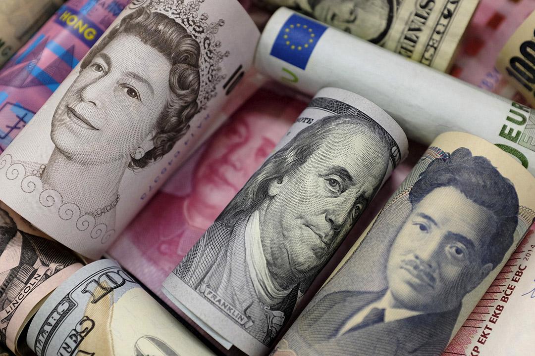 英鎊兌主要貨幣全線下跌。