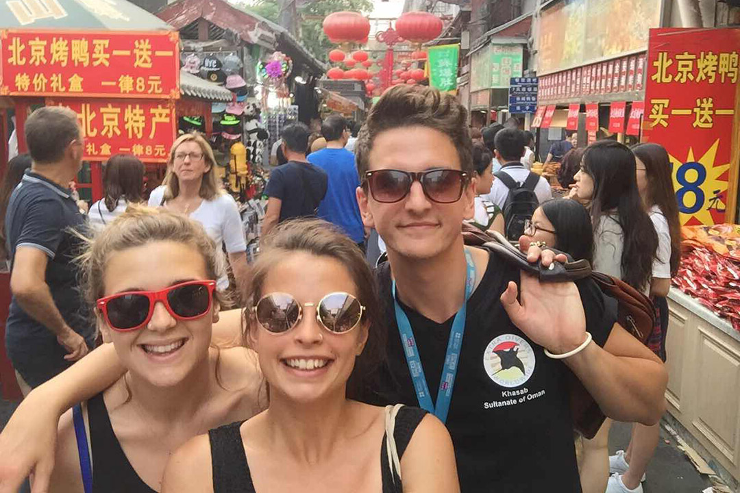 24歲的英國人 Nathan Lawes,在一家北京貿易公司任職商業發展經理。