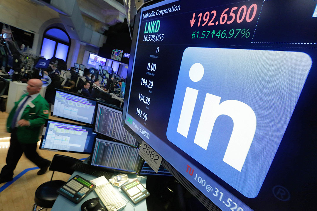 微軟將以262億美元現金收購職業社交網站LinkedIn。