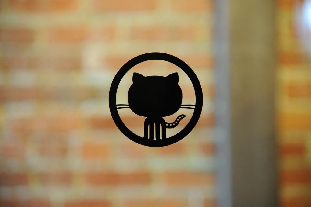 Github網站logo。