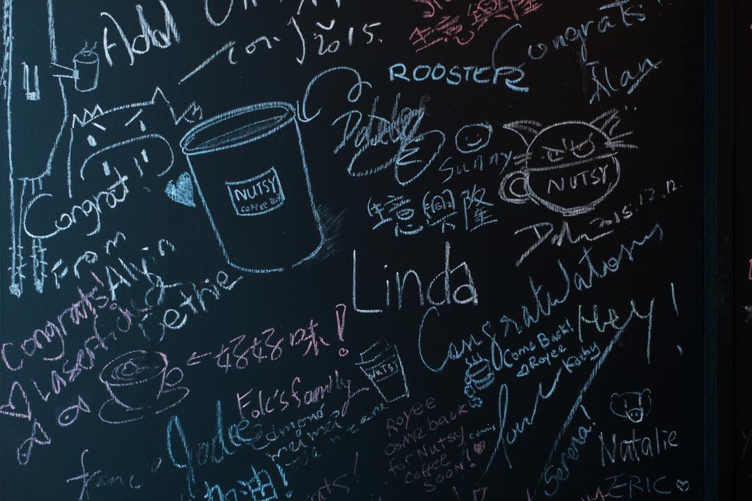 位於鰂魚湧咖啡館-Nutsy Coffee Bar。
