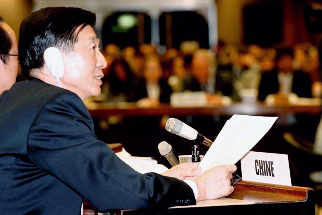 吳建民出席第53屆中國人權委員會會議。
