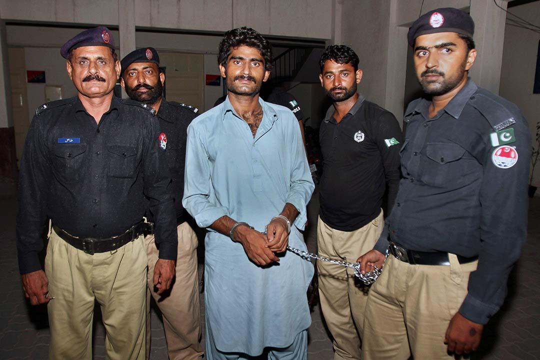 巴基斯坦網絡紅人俾路支(Qandeel Baloch)的哥哥 Waseem Baloch。