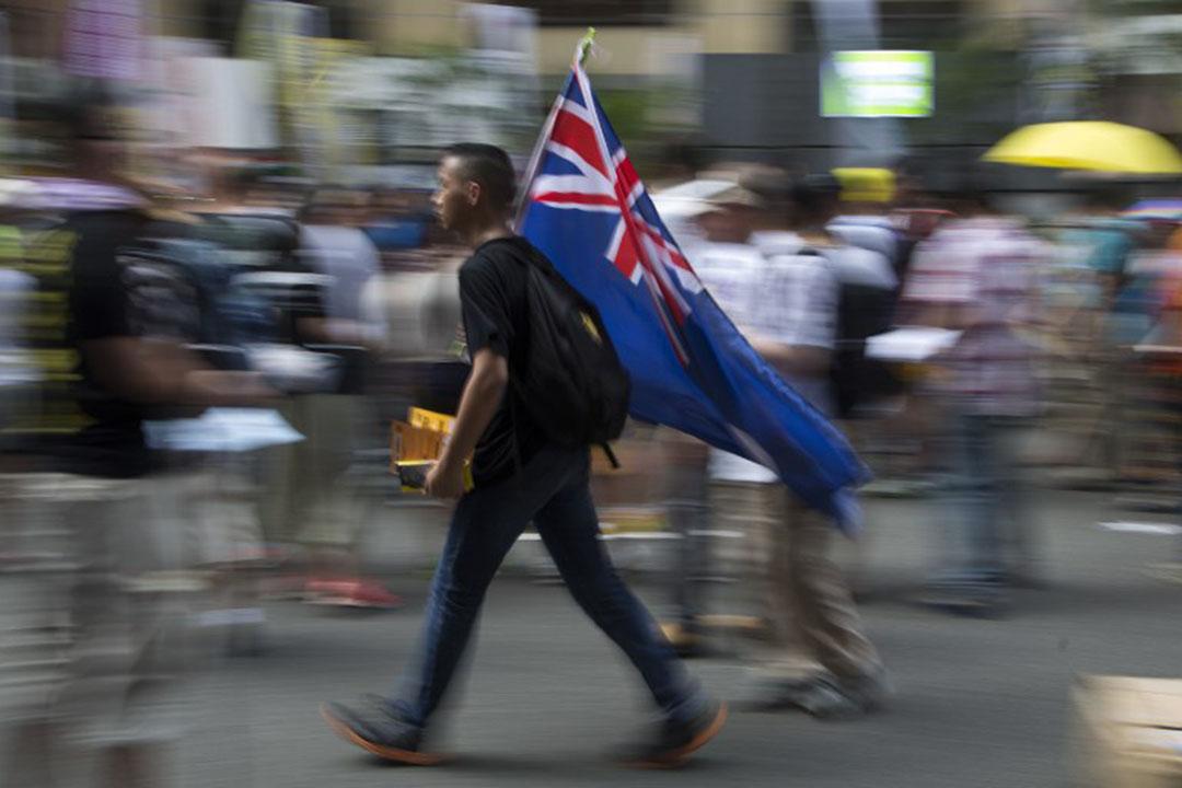 有調查發現年輕 人群組有近四成人支持港獨。