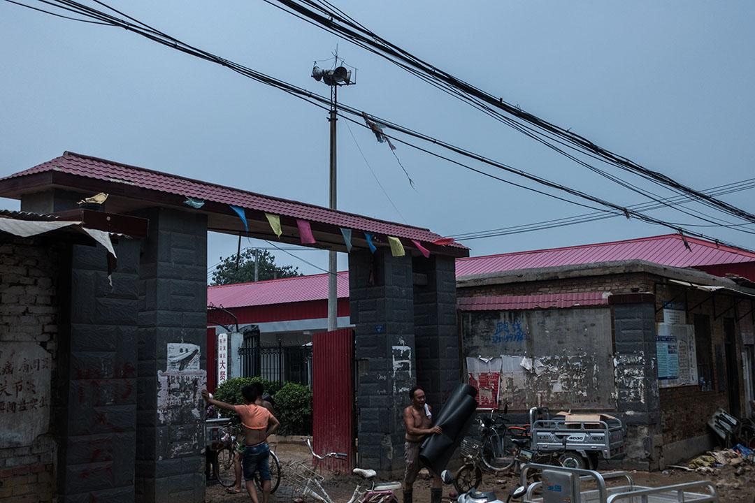 邢台市大賢村,洪水到來當晚用來通知村民疏散的廣播站。