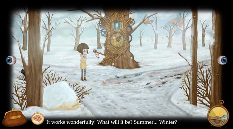 弗蘭在植物王國遊蕩時遇到的那些好心的「樹」。