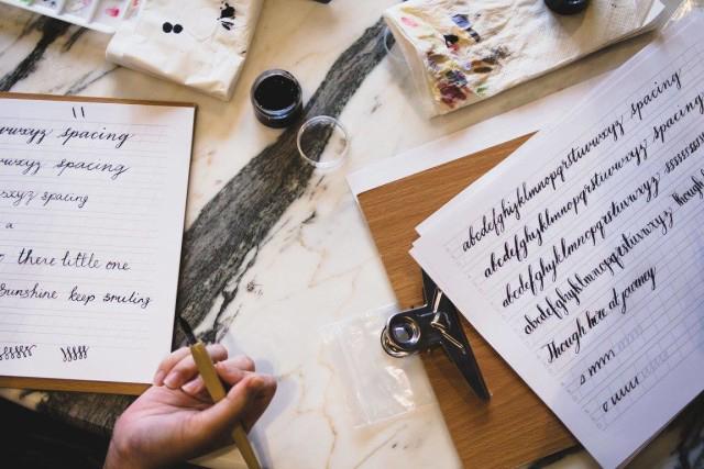 手寫字才是情感的最佳表達方式 。