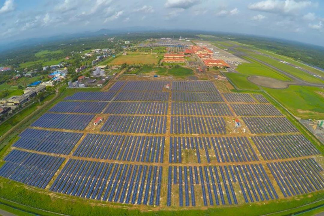 科欽國際機場為世界上第一個太陽能飛機場。