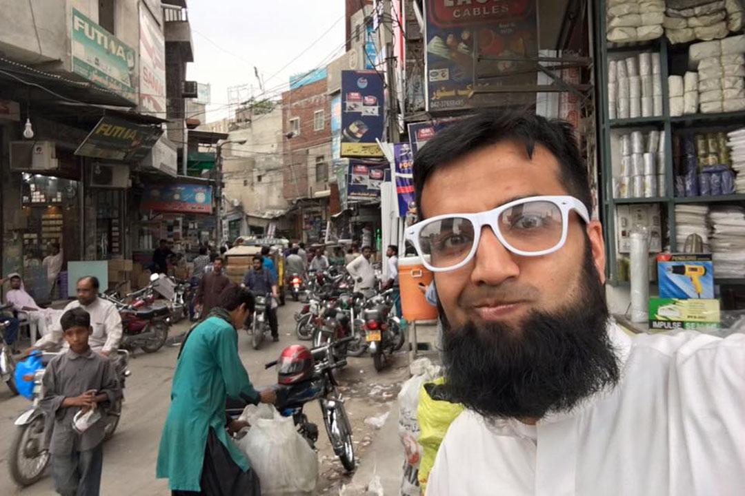 second wife的網站創辦人Khalid Mahmood。