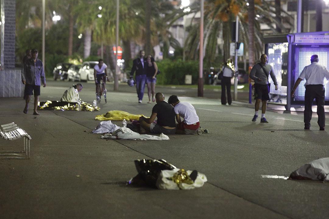 事發路上有大量死傷者。