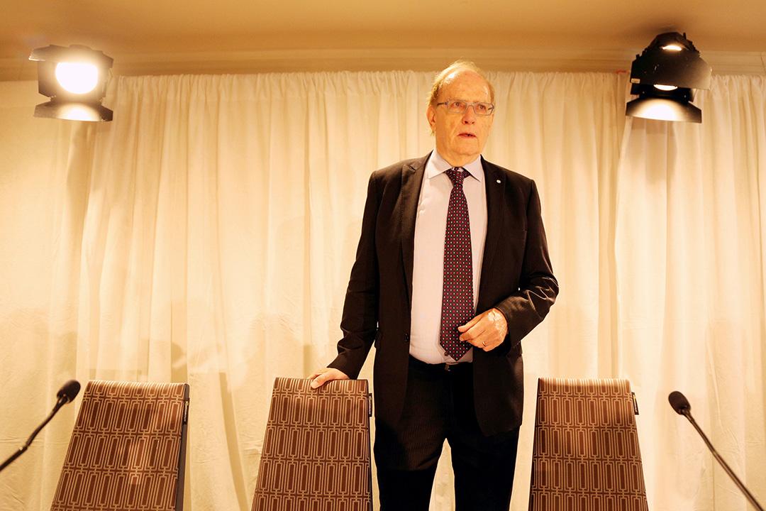 加拿大律師麥克雷倫(Richard McLaren)為世界反禁藥組織發表調查報告。