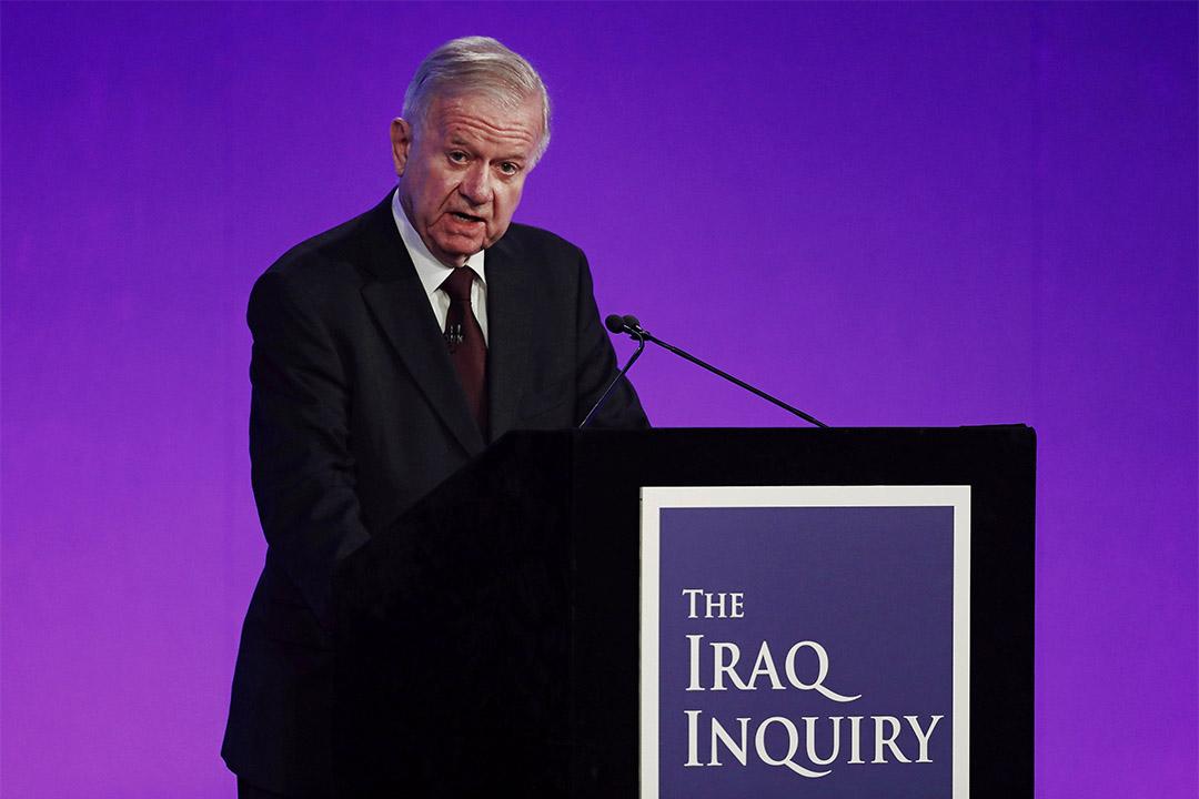 調查委員會認為,貝理雅有盲目支持美國的嫌疑,對輕率開啟伊拉克戰爭難辭其咎。