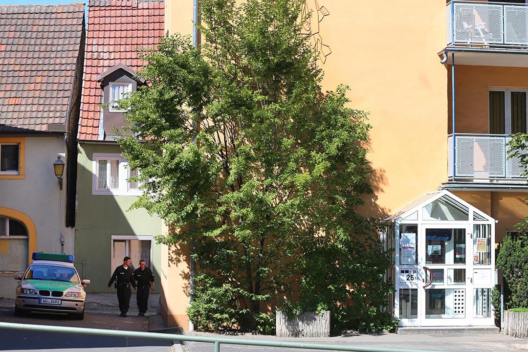 阿富汗未成年難民利亞茲被安置在 Ochsenfurt 市內一家天主教機構Kolping House。