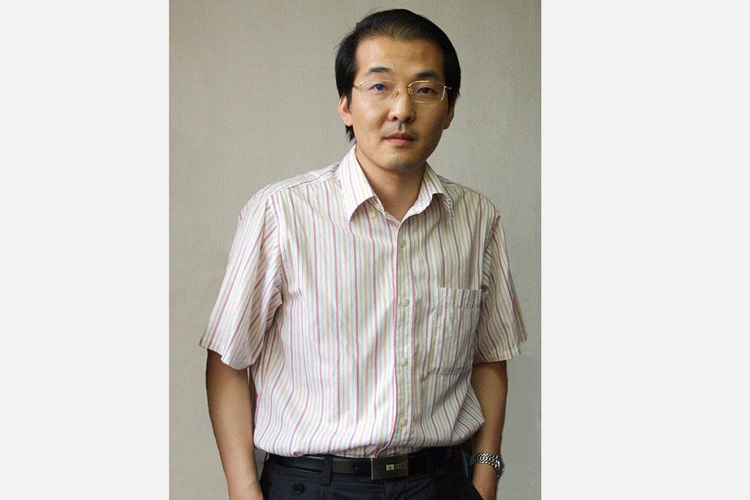 中国维权律师夏霖。