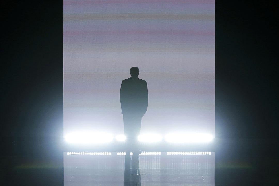 特朗普在共和黨大會登台。