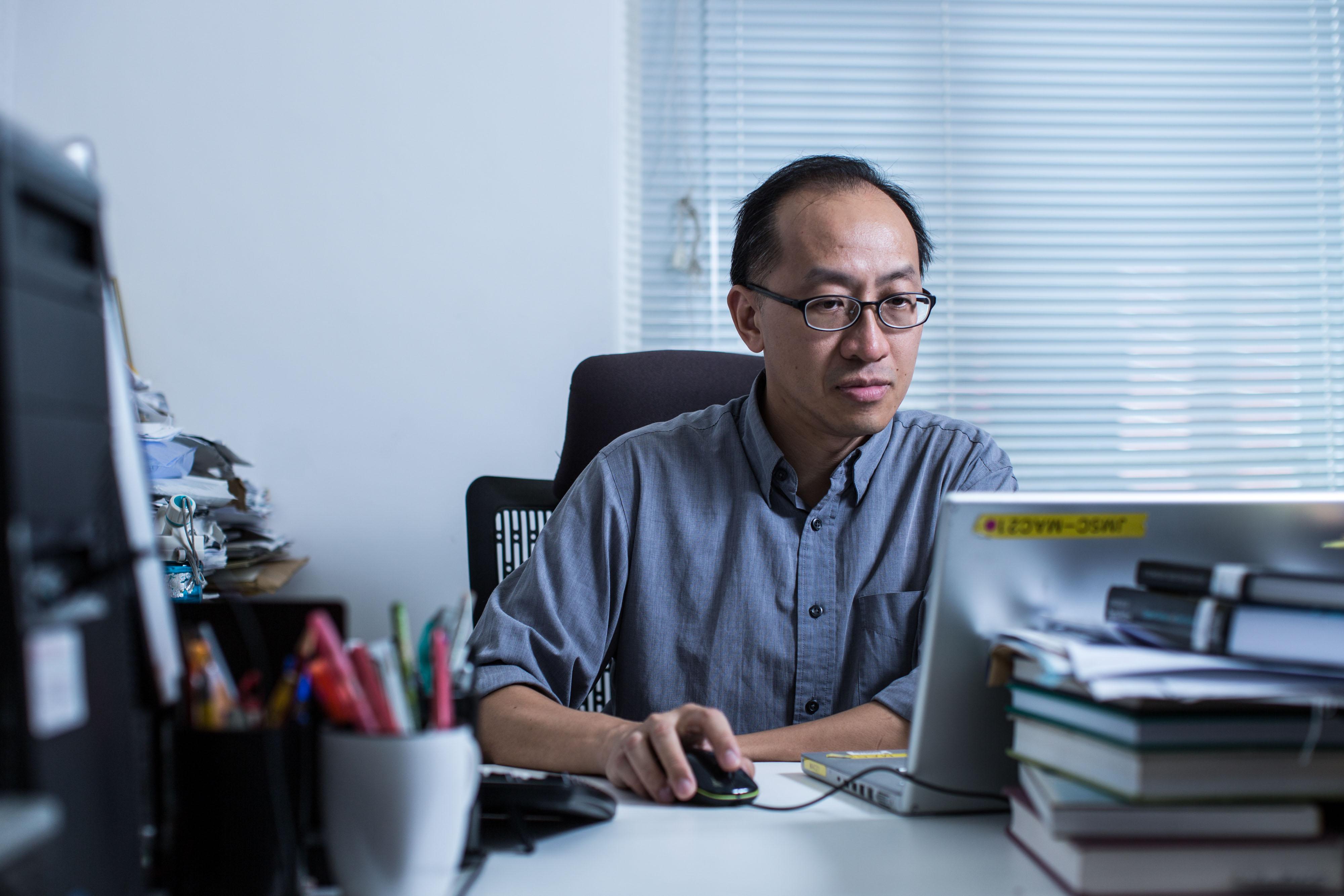 香港大學新聞及傳媒研究中心副教授傅景華。