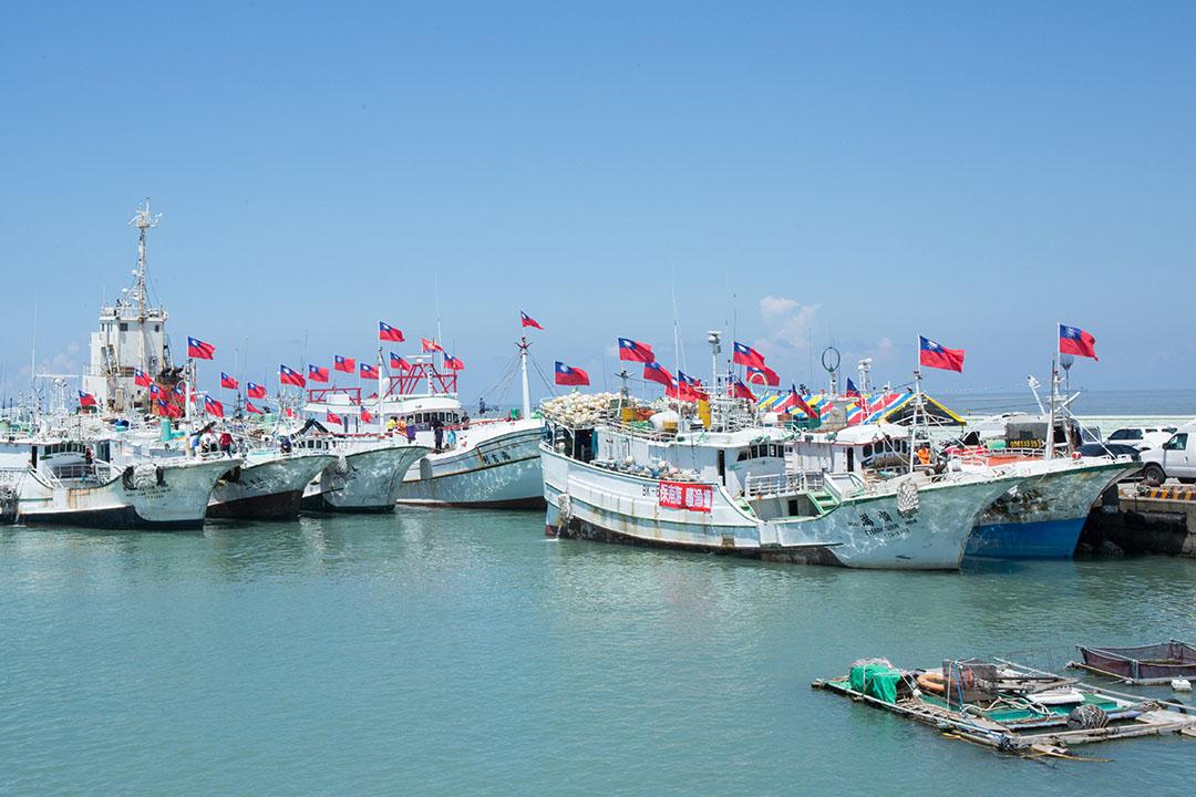 台灣屏東東港5艘漁船出發太平島護主權。