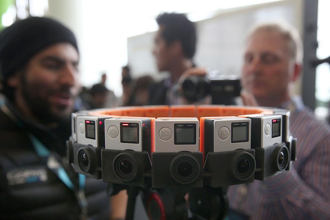 GoPro Odyssey 360度全景攝影機。