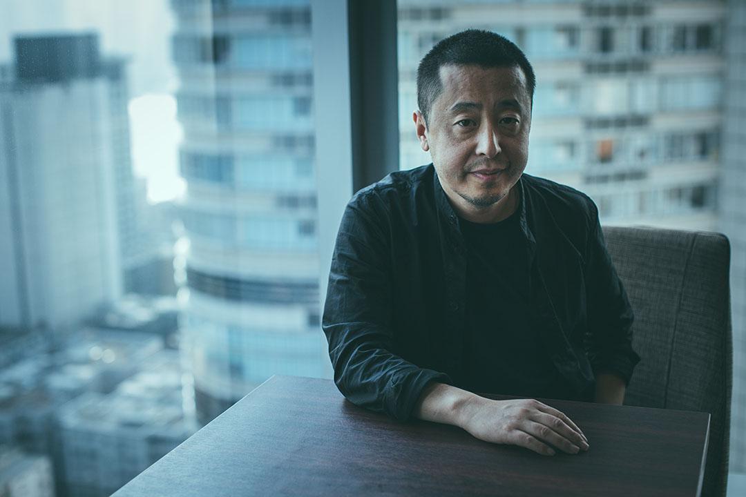 中國電影導演賈樟柯。
