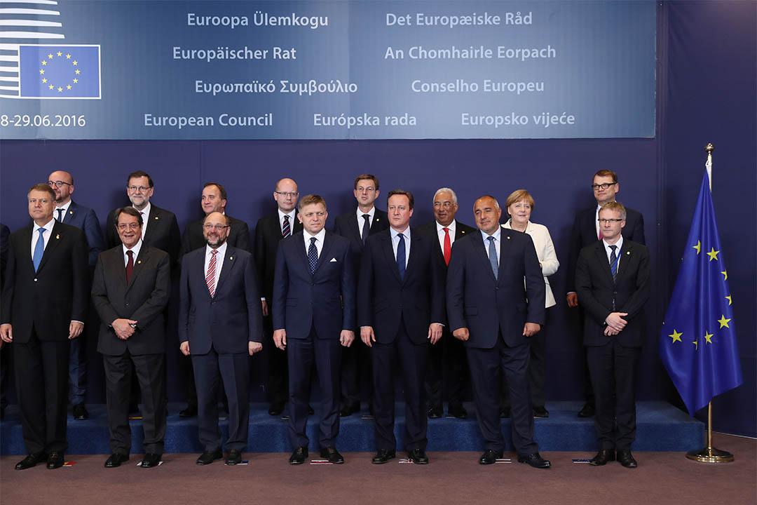 2016年6月28日,英國首相卡梅倫到比利時布魯塞爾參加歐盟峰會。