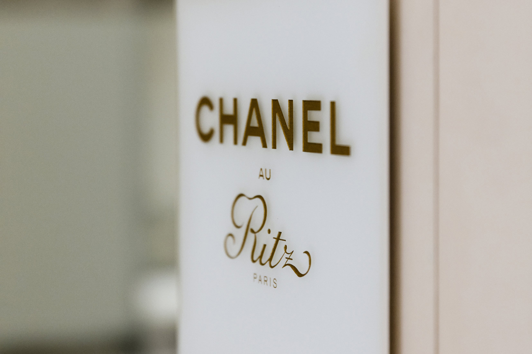 Chanel au Ritz。