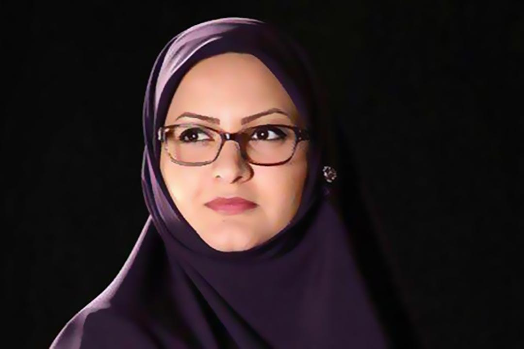伊朗伊斯蘭議會選舉中被取消資格的女政客米諾·哈雷吉。
